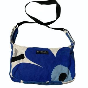 Marimekko Unikko Floral Pattern Canvas Mini Tote